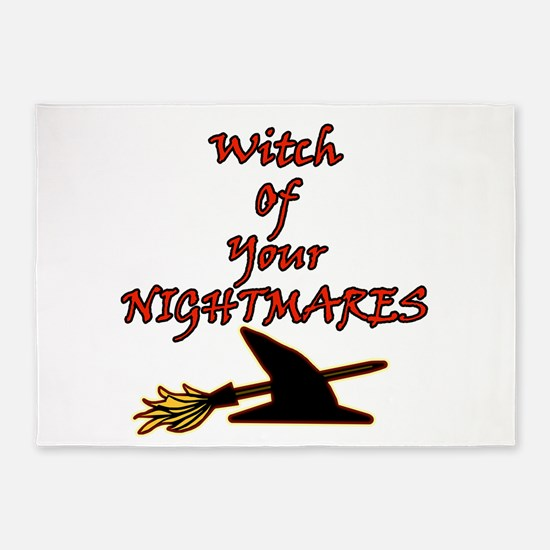 Witch Of Your Nightmares 5'x7'Area Rug
