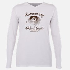 Cool Illuminati Plus Size Long Sleeve Tee