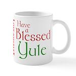 Blessed Yule Mug