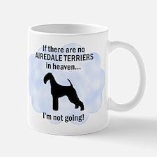 Airedales in Heaven Mug