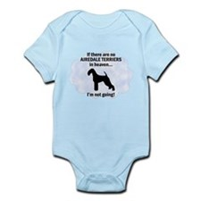 Airedales in Heaven Infant Bodysuit