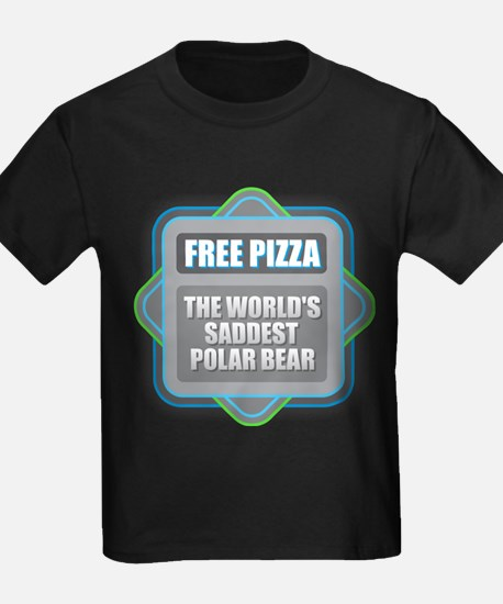 Pizza - Saddest Polar Bear T-Shirt