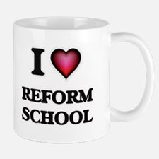 I Love Reform School Mugs