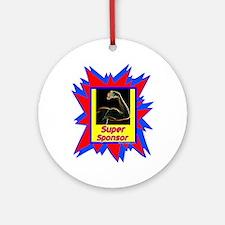 """Super Sponsor"" Ornament (Round)"