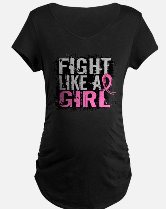 Licensed Fight Like a Girl 31.8 Maternity T-Shirt