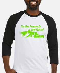 friends low placses green letters copy Baseball Je