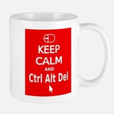 KC Ctrl Alt Del (red) Mug