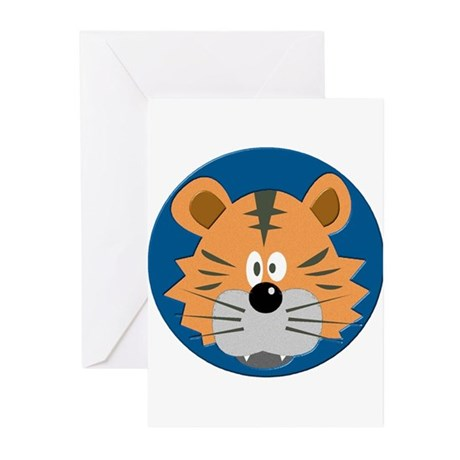 Baby Tiger Greeting Cards (Pk of 10)