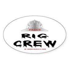 Rig Crew Oval Decal