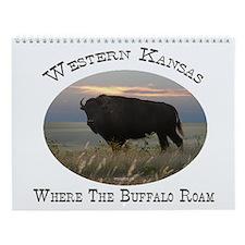 Where The Buffalo Roam Wall Calendar