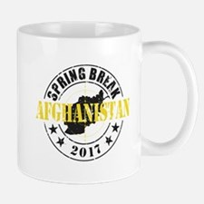 Spring Break Afghanistan Mugs