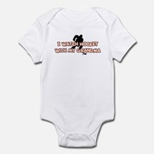 New York Hockey 1 Grandma Infant Bodysuit