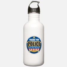 Thank You Police Water Bottle