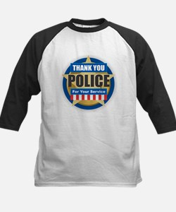 Thank You Police Baseball Jersey