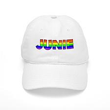 Junie Gay Pride (#004) Baseball Cap