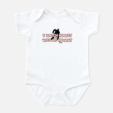 New York Hockey 1 Mommy Infant Bodysuit