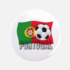"""Portugal soccer 3.5"""" Button (100 pack)"""