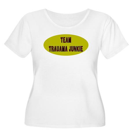 Team Trauma Women's Plus Size Scoop Neck T-Shirt