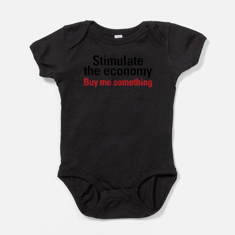 Cute Recession Baby Bodysuit