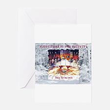 Funny Orthodox christmas Greeting Card