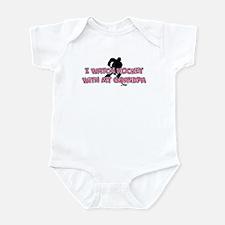 New York Hockey 2 Grandpa Infant Bodysuit
