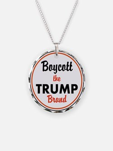 boycott the trump brand Necklace