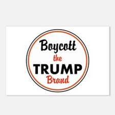 boycott the trump brand Postcards (Package of 8)