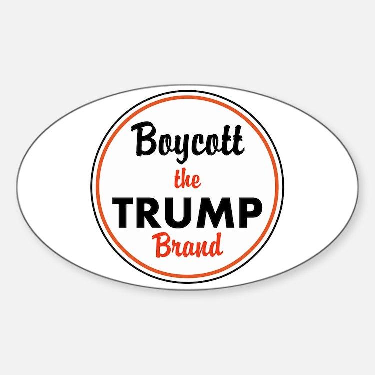 boycott the trump brand Decal