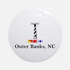 Hatteras Lighthouse   Ornament (Round)