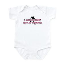 New York Hockey 2 Grandma Infant Bodysuit