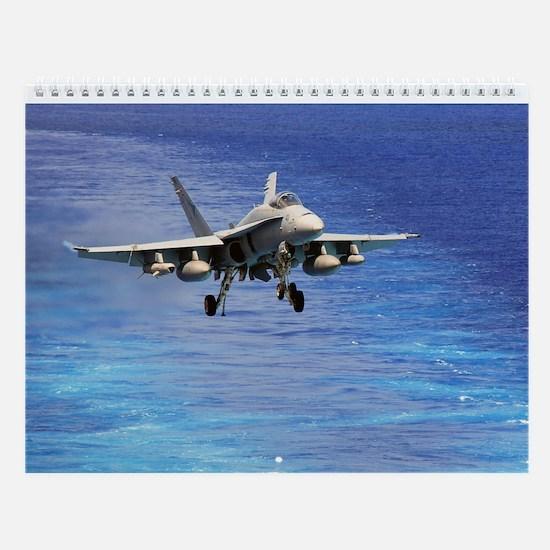 Aircraft Wall Calendar