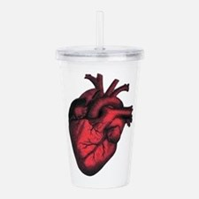 HEART Acrylic Double-wall Tumbler