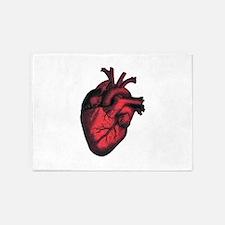 HEART 5'x7'Area Rug