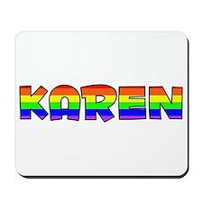 Karen Gay Pride (#004) Mousepad
