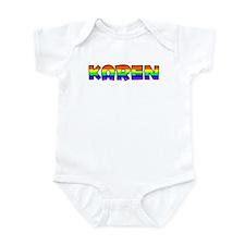 Karen Gay Pride (#004) Infant Bodysuit
