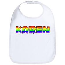 Karen Gay Pride (#004) Bib