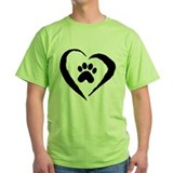 Dogs Green T-Shirt