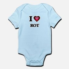 I Love Rot Body Suit