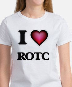 I Love Rotc T-Shirt