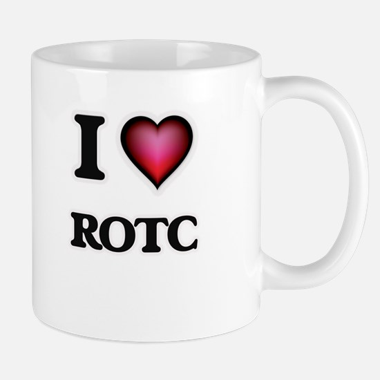 I Love Rotc Mugs