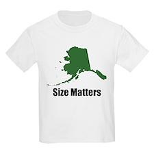 Size Matters Kids T-Shirt