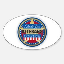 Thank You Veterans Decal