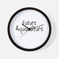 Future Aquaculture Wall Clock