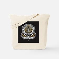 Owl Art Tote Bag
