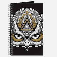 Owl Art Journal