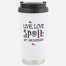 Live Love Spoil Grandki Travel Mug