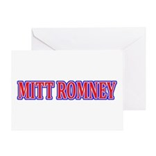 Vote Mitt Romney Greeting Card