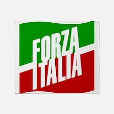 Forza Italia Throw Blanket