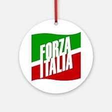 Forza Italia Round Ornament
