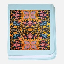 1895 William Morris Wallpaper baby blanket